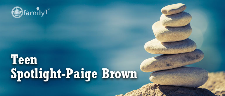 Teen Spotlight-Paige Brown