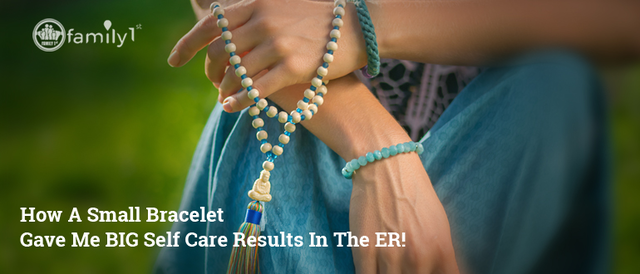 How A Small Bracelet Gave Me BIG Self Care Results In The ER!?