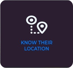 Locate the vehicle or asset using gps tracker