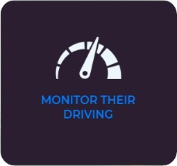 Monitor driving behavior using the reports
