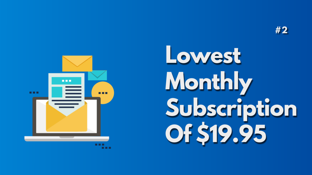 Lowest monthly subscription