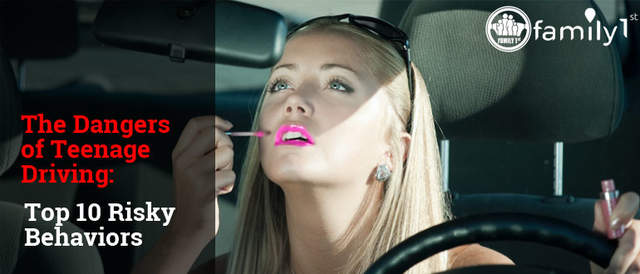 The Dangers of Teenage Driving: Top 10 Risky Behaviors