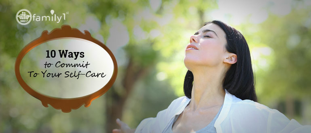 10 Ways to Commit To Your Self-Care