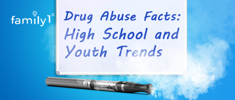 Drug abuse facts high school and youth trends