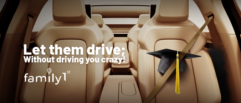 Let them drive without driving you crazy