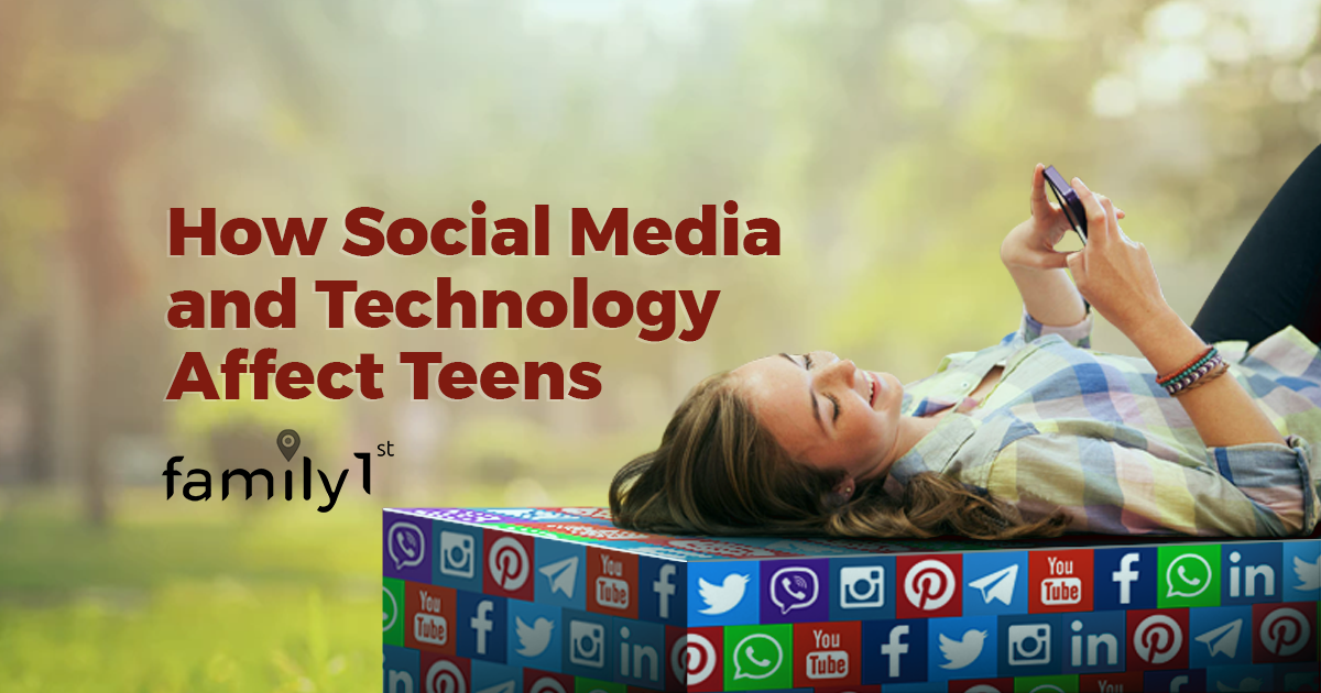 How social media and technology affect teens