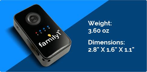Light weight tracker