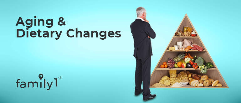 Aging & Dietary changes