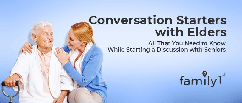 Conversation starters with elders