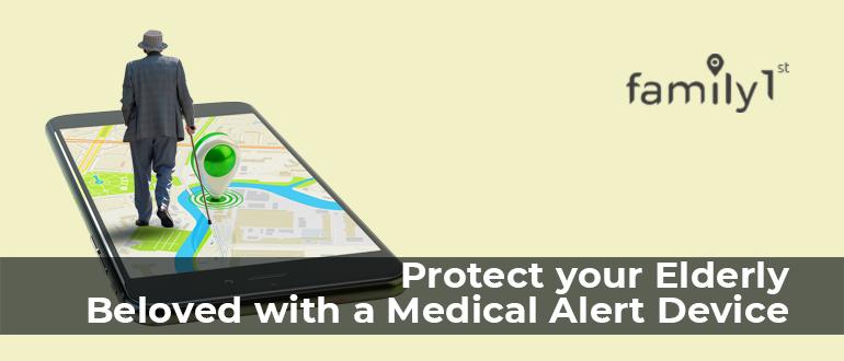 Medical alert device for seniors
