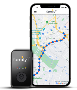 family1st child gps tracking device