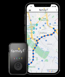family1st portable tracker device for partner