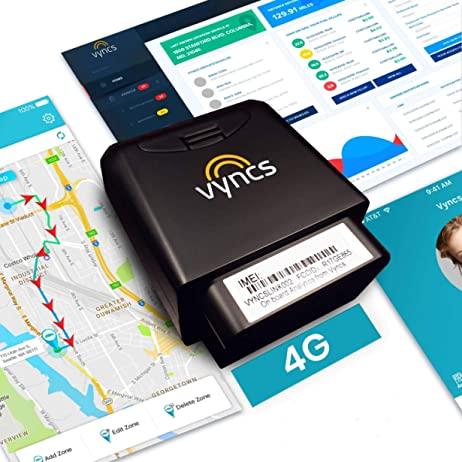 Vyncs 4G LTE GPS Tracker