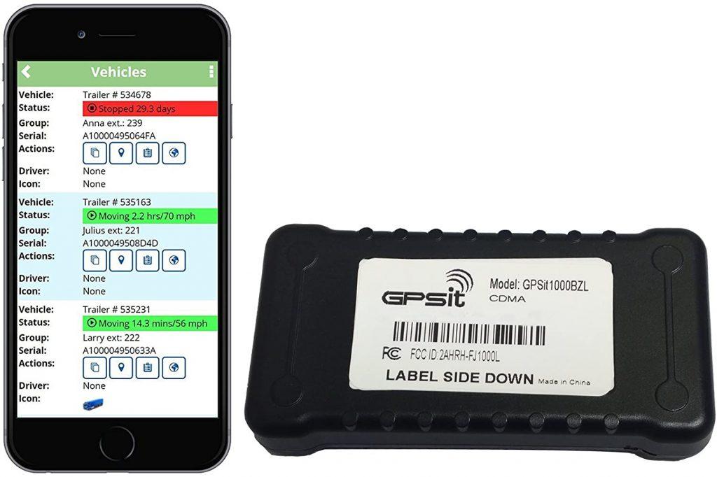 GPSit 1000BZL LTE Vehicle Tracking Device