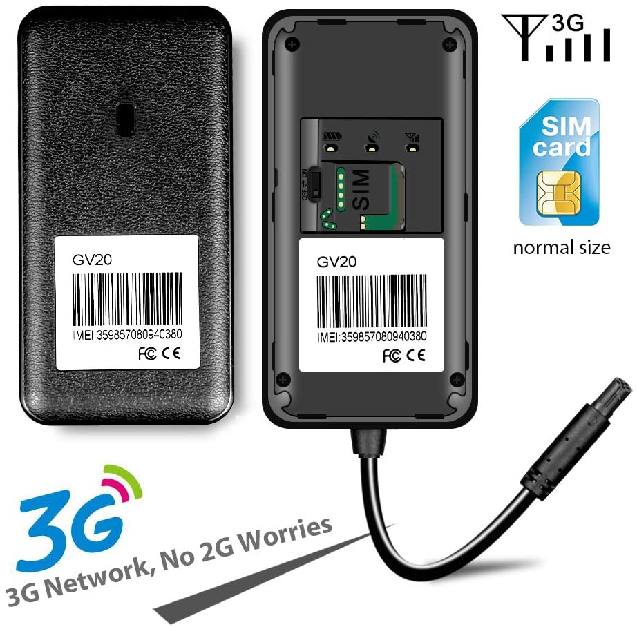 JimiIoT GV20 3G GPS Tracker